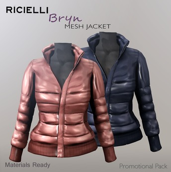 R.icielli - BRYN Mesh Jacket / Promotional Pack