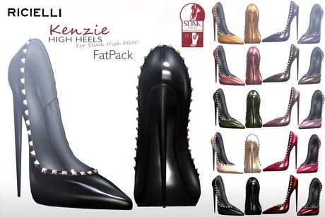 R.icielli - KENZIE Studded Stiletto for Slink / Fatpack PROMOTION!