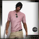 :KR: Marty Golf Shirt - Pink