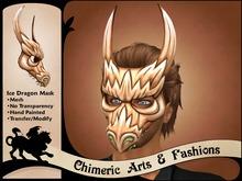 Ice Dragon Mask (Copper)