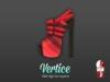 [ Vertice ] Red Move - (SLINK) High Heeled Ankle Sandals