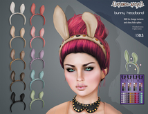 .{PSYCHO:Byts}. Bunny Headband