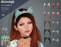 .{PSYCHO:Byts}. Cat Headband