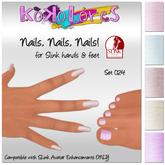[Kokolores] Nails, Nails, Nails! Set 024 - for Slink Avatar Enhancements