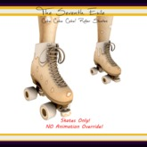 The Seventh Exile: Cake Cake Cake! Roller Skates - Cream