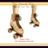 The Seventh Exile: Cake Cake Cake! Roller Skates - Peanut Butter