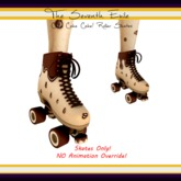 The Seventh Exile: Cake Cake Cake! Roller Skates - Chocolate
