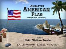Animated American Flag - USA Flag, America Flag, Independence Day, 4th of July, Veterans, Memorial Day)