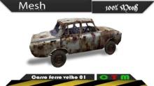 Carro ferro velho 01