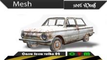 Carro ferro velho 02