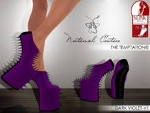 NC : The Temptation -DARK VIOLET-V1 Slink MID Heels