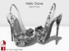 Hello Dave - Sling Back Stiletto - Demo Pack