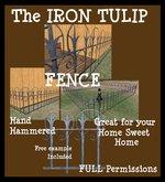 The IRON TULIP Fence texture