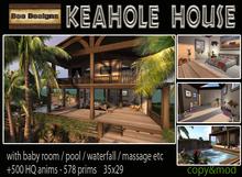 PROMO.:Bee Designs:.Keahole Tiki House -box