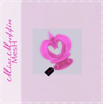 -Miss.Muffin- Princess Crown *Barbie Pink*