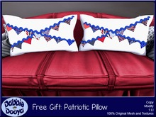 Dabble Dooya Patriotic Pillow