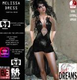 * Sexy Dreams * - Melissa dress black :: lolas tango, mirage, omega, phat, sking brazilia, wowmeh, eve, ghetto,