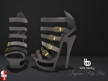 Bens Beauty - Tropicano High Heel gray