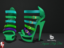 Bens Beauty - Tropicano High Heel mint-mix