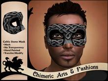 Celtic Stone Mask (Grey)