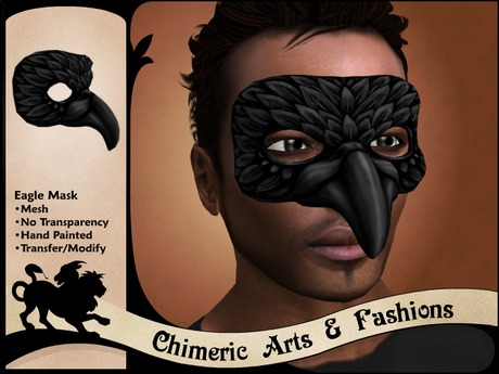 Eagle Mask (Black)