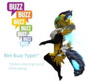 Bee Buzz Typer