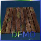 Just Wood Boards. Mesh. DEMO