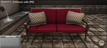 [ kunst ] - Valencia sofa (PG) / white wood