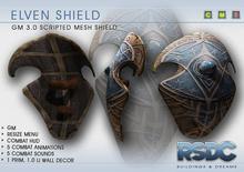 RSDC ARMOURY - ELVEN SHIELD - GM