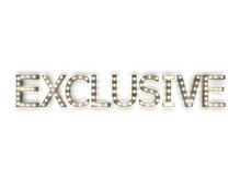 "[Px] ""EXCLUSIVE"" Illuminated Light Bulbs Sign"