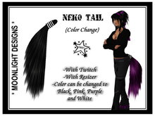 *MD* Neko Tail  (Color Change)