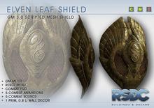RSDC ARMOURY - ELVEN LEAF SHIELD - GM