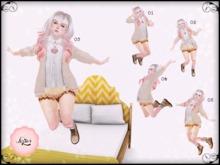 -*[LAPIN]*- GIRLY JUMP! (Animation/Poseball)