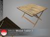[DD] - FULL PERM  Wood Table 1