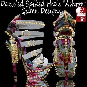 "Dazzled Spike Heels ""Ashton"""