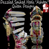 "Dazzled Spike Heels ""Ashton"""