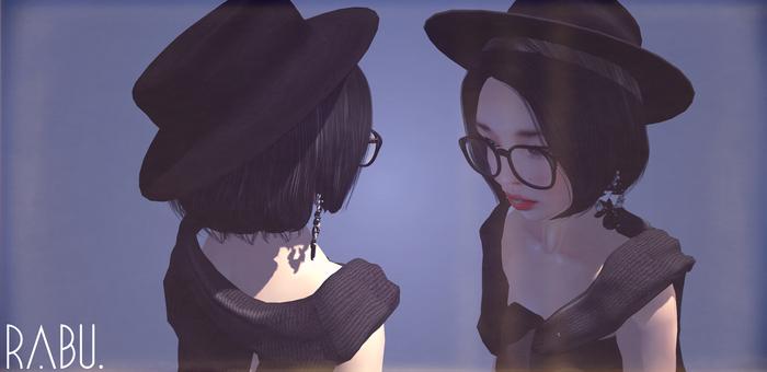 rabu. - leather fedora hat // unisex