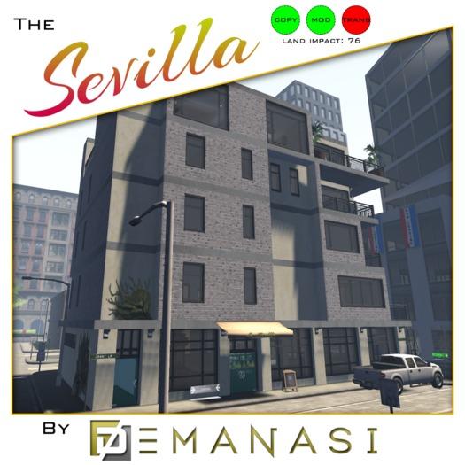 La Sevilla by Demanasi - 100% Mesh
