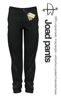 [Deadwool] Joad pants - black