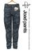 [Deadwool] Joad pants - navy