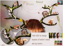 *{ SeVered GarDeN }* FLO antler - Forest