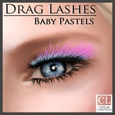 cStar Limited - Drag Lashes - Baby Pastels