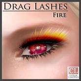 cStar Limited - Drag Lashes - Fire