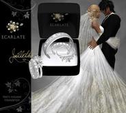 Engagement Ring + Alliance Women & Men - Silver - Juillethy