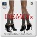 Blackburns Scorpion Knee-Sock Heels DEMO's