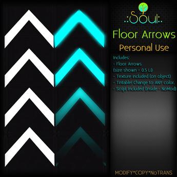 .:Soul:. Floor Arrows - Personal Use