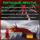 Tentaculus Infestus - Most Advanced ground tentacles in SL (tentacle decoration)