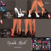 %.:EC:. Bag Nevada Heels Fatpack [ For Slink High Feet]