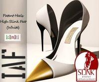 IAF Patent Heels - High Slink Feet (White)
