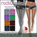 *rockCandy - Torn Booty Shorts - 8 Color Pack **For SLink Physique**